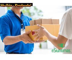 Siuntų (produktų, prekių) siuntimas PIGIAU