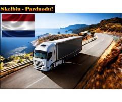 Krovinių Pervežimas Tentinėmis Puspriekabėmis