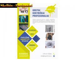 Logoritmas.eu - spauda (spauda ant tekstilės ir kt.), drabužiai reklamai, Vilnius