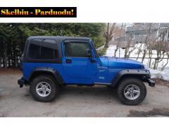jeep wrangleur 2.5 sport 1997