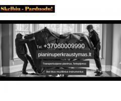 PIANINŲ PERVEŽIMAS,TRANSORTAVIMAS 860009990