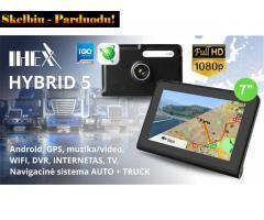 NAUJA IHEX HYBRID 5 NAVIGACIJA + DVR registratorius, Šiauliai