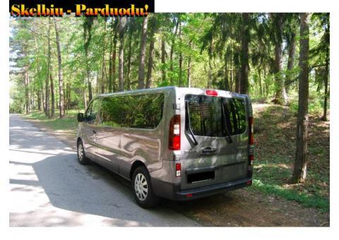 Keleivių pervežimas - mikroautobuso nuoma su vairuotoju Kaune TEL:864314115