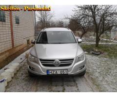 Automobilis VW Tiguan 11.2008 geros būklės. Randasi Vilniuje. Lietuvoje eksploatuojamas trys metai.