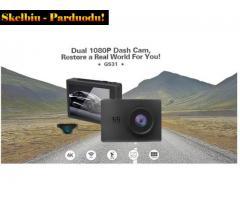 DVR Premium vaizdo registratorius su OLED 4K ekranu, wifi, gps. AUKŠTA KLASĖ