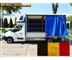 Tentiniu busiuku vežame krovinius iš Belgijos į Belgiją.
