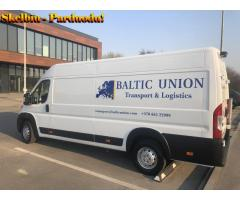Greitas siuntų, krovinių pervežimas Europoje