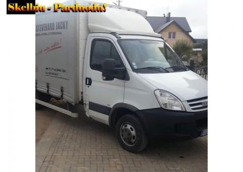 Krovinių pervežimas *baldų pervežimas/senų baldų išvežimas*krovėjai *butų/įmonių perkraustymai* Tel.