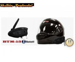 BTM-15 SLIM BLUETOOTH SISTEMA MOTOCIKLAMS, DVIRAČIAMS, KETURRAČIAMS, SLIDININKAMS