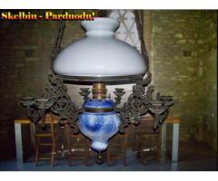 4) Prabangi Antikvar.pakabinama Žibalinė lempa