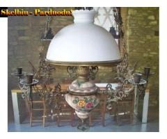 1) Prabangi Antikvar.pakabinama Žibalinė lempa