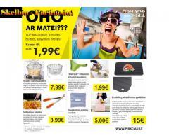 Virtuvės, buities, apyvokos prekės tik nuo 1,99eur