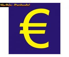 Ar jums reikia greito finansavimo?