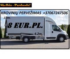 Perkraustymo Paslaugos - Krovinių Pervežimas Europoje