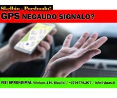 GPS navigacija negaudo siganlo, pameta palydovus, ilgai gaudo signalą?