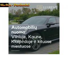 Luxrent.lt - automobilių nuoma / auto nuoma