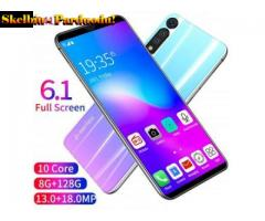6.1inch Large Screen Android Smartphone 1+16G P41Pro Cellphones Xmas Gifts Sky white_EU Standard