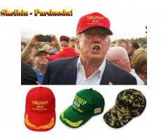 Men/Women Peaked Cap Hat American Presidential Election Baseball Hat for Trump Supporters Red