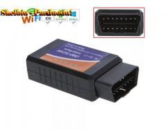 """ELM 327 Wifi V1.5 OBD2 OBDII"" automobilio diagnostikos skaitytuvas PIC18F25K80 ""Chip OBD 2"" automat"
