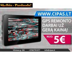GPS remonto darbai nuo 5 EUR!