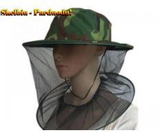 Apsauginė skrybėlė nuo uodų