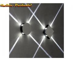 85–265 V skersinės siauros šviesos LED sieninė lempa