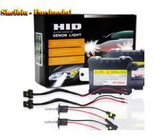 Xenon priekinių žibintų lemputės 2vnt 55W H1 3000–12000K