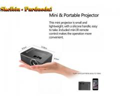 HD 1080P TFT LCD Home Mini Projector TV Multi-Media Player Theater Home Cinema Video Projector