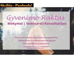 Gyvenimo raktas- mokymai ir seminarai asmeniniam bei profesiniam tobulėjimui