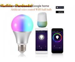 """11W Smart Wifi Light"" ""Alexa"" ir ""Google Home"" balso valdymo LED apvali lemputė"