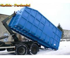 Metaliniai konteineriai atliekoms
