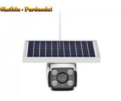 4G saulės baterija maitinama IP kamera su įmontuota baterija, belaidžiu lauko apsaugos, vaizdo stebė