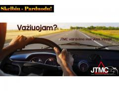 Registracija į vairavimo kursus  Vilnius