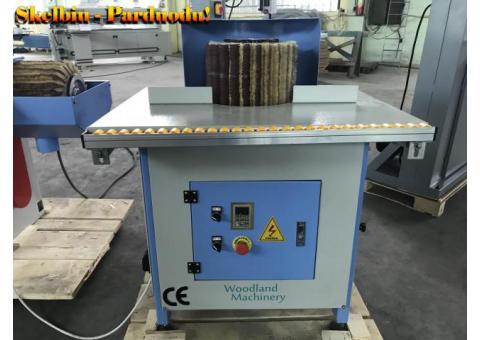 20-29-553 Šepetinės šlifavimo staklės WOODLAND MACHINERY DTL-20DX (naujos)