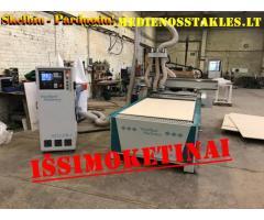 20-70-550 CNC frezavimo staklės WOODLAND MACHINERY (naujos)