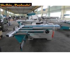 20-60-543 Formatinio pjovimo staklės  MJ6122TD(400) Woodland Machinery (naujos)