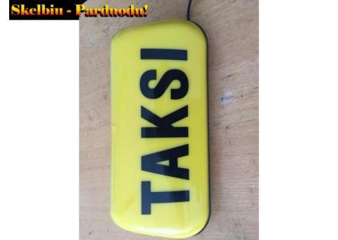 Taksometras T-Tiny. Taksi plafonai. Taksometrai.