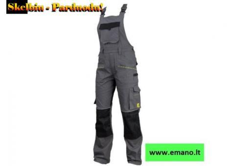 Kokybiški darbo rūbai su elastanu