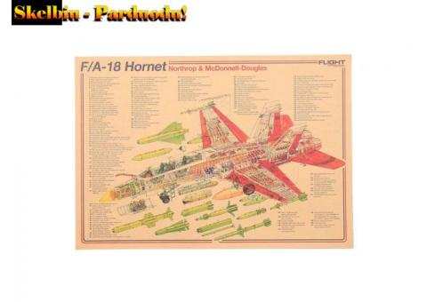 Kolekcija laminuotų plakatų- lėktuvų ir bombonešių