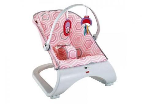 Fisher-Price Pink Saturn Snuggle Vibro Kėdutė